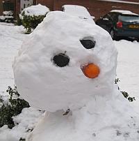 Brickfield Road snowman