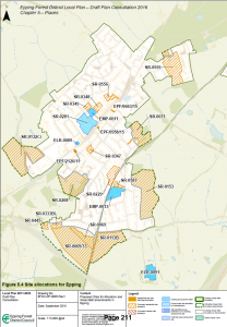 Epping sites for potential development